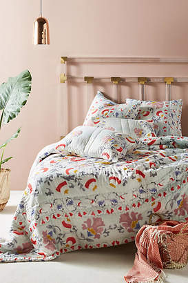 Anthropologie Artisan Quilts by Viviana Quilt