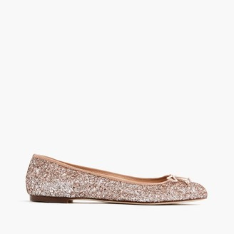 Camille ballet flats in glitter $158 thestylecure.com