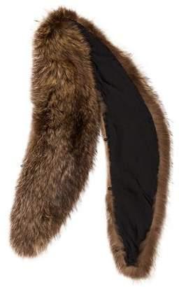 Fur Collar Scarf
