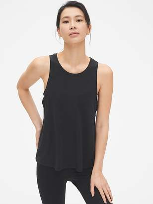 Gap GapFit Breathe Criss-Cross Muscle Tank Top