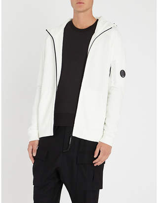 C.P. Company Shell-panelled cotton-jersey hoody