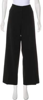 Akris Wool High-Rise Pants
