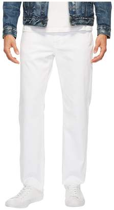 Agave Denim Classic Straight Rincon Twill in White Men's Clothing