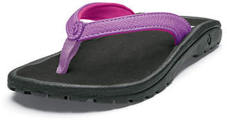 OluKai Girls' Kulapa Kai Slip-On Sandals