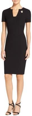 St. John Micro Boucle Knit Dress