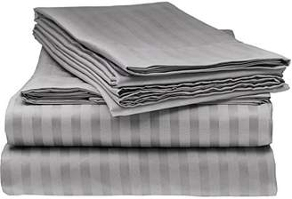 Italian Collection ITALIAN STRIPED 4PC QUEEN Sheet Set