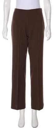 Ralph Lauren Black Label Mid-Rise Wide-Leg Pants
