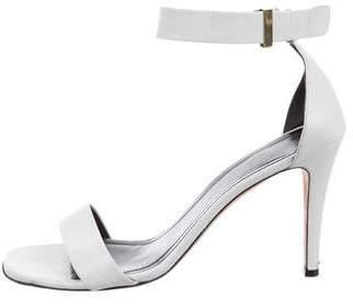 Celine Leather Ankle Strap Sandals