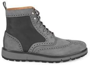 Swims Motion Wing-Tip Brogue Boots