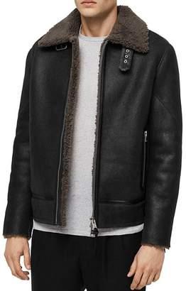 AllSaints Lowell Shearling Jacket