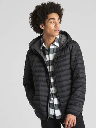 Gap ColdControl Lightweight Hooded Puffer Jacket