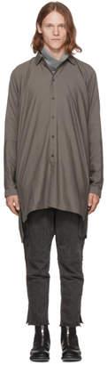 Jan-Jan Van Essche Grey Long Shirt