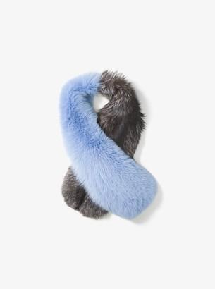 Michael Kors Fox Fur Scarf