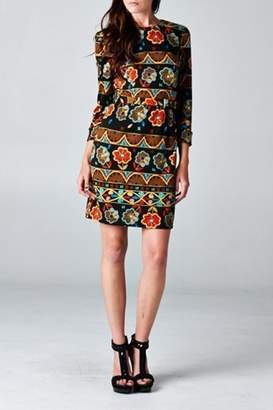 Esley Collection Floral Printed Pattern