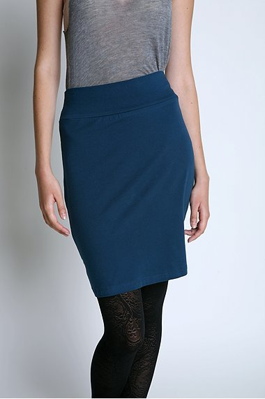 Lux Knit Pencil Skirt