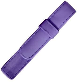 Royce Leather Single Pen Case - Purple