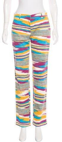 Missoni Sport Printed Straight-Leg Pants