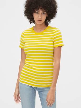 Gap Modern Stripe Crewneck T-Shirt