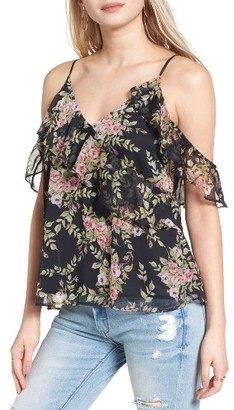 Women's Astr The Label Off The Shoulder Camisole $59 thestylecure.com