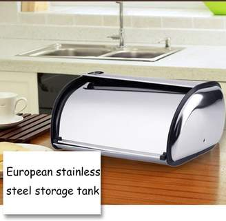 At Walmart.com · LESHP High Quality Stainless Steel Bread Box Storage Bin  Keeper Food Container Kitchen 34*21