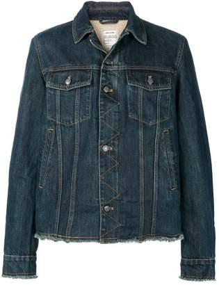 Zadig & Voltaire Zadig&Voltaire slim fit denim jacket