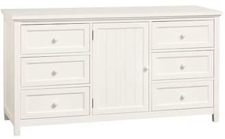 Pottery Barn Teen Beadboard Wide Dresser, Simply White