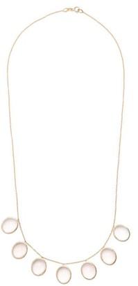 Susan Foster Rose Quartz & Yellow Gold Necklace - Womens - Gold