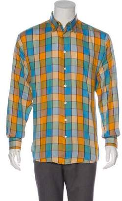 Burberry Window Check Shirt