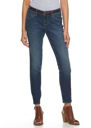 Women's Apt. 9® Modern Fit Skinny Ankle Jeans $44 thestylecure.com