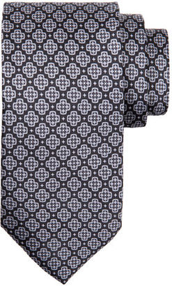 Stefano Ricci TIE WITH LARGE X PRINT $260 thestylecure.com