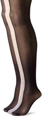 Betsey Johnson Women's Rose Ombre Tights 3-Pack