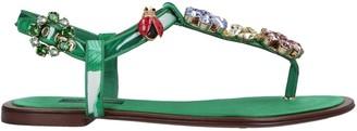 Dolce & Gabbana Toe strap sandals