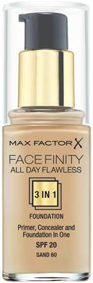 Max Factor Face Finity 3 in 1 Primer, Concealer and Foundation