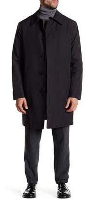 Cole Haan Nylon Trench Rain Coat