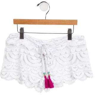Pilyq Girls' Scalloped Lace Bottoms w/ Tags