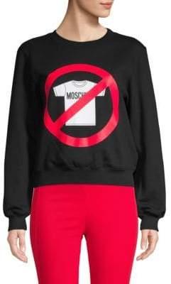 Moschino Graphic Stretch Sweatshirt