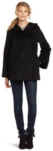 Nicole Miller Women's Hooded Swing Coat