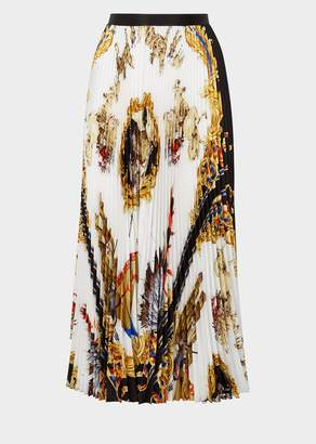 Versace Native Americans Tribute Skirt