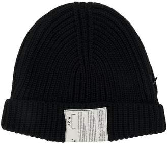 A-Cold-Wall* ribbed knitted hat