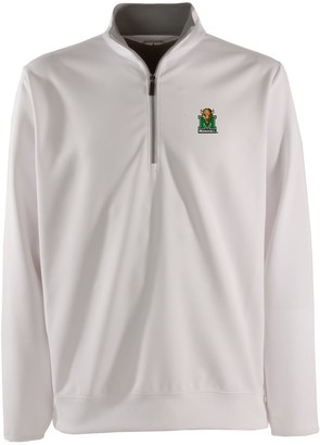 Antigua Men's Marshall Thundering Herd 1/4-Zip Leader Pullover