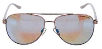 Michael Kors Reflective Aviator Sunglasses