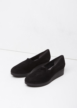 Robert Clergerie Naloj Wedge Slip-On $575 thestylecure.com