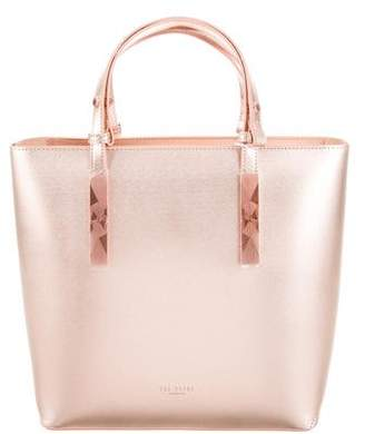 12be12384 Ted Baker Metallic Shopper Tote w  Tags