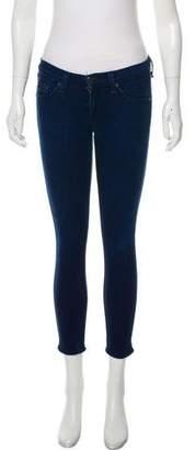 Rag & Bone Low-Rise Capri Jeans