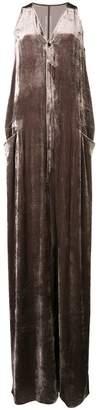 Rick Owens oversized wide-leg jumpsuit