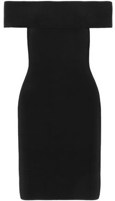 Alexander Wang Off-The-Shoulder Ponte Dress
