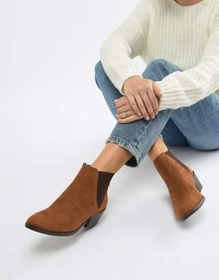 New Look Low Heel Ankle Boot