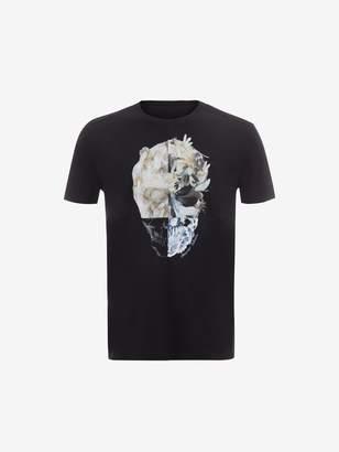 Alexander McQueen Skull Printed T-Shirt