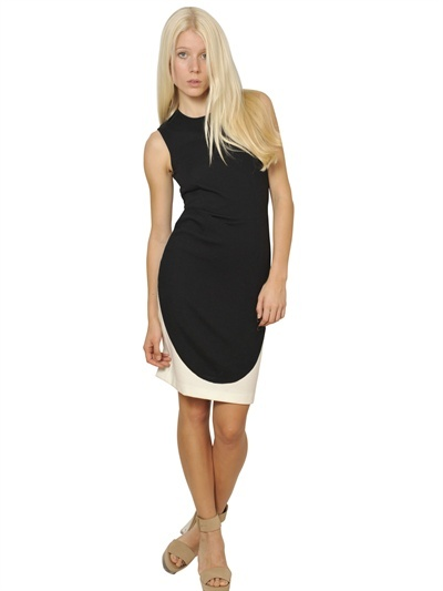 Stella McCartney Bicolor Cotton Jersey Dress