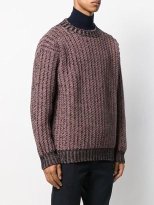 Salvatore Ferragamo chunky knit jumper
